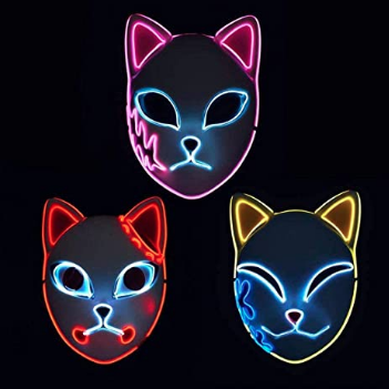 Demon Slayer Kimetsu no Yaiba Tanjirou LED masks